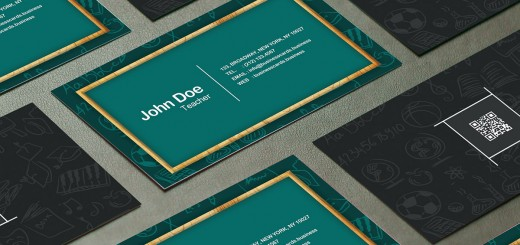 Free Student Business Card Template Business Cards Templates - Teacher business card template