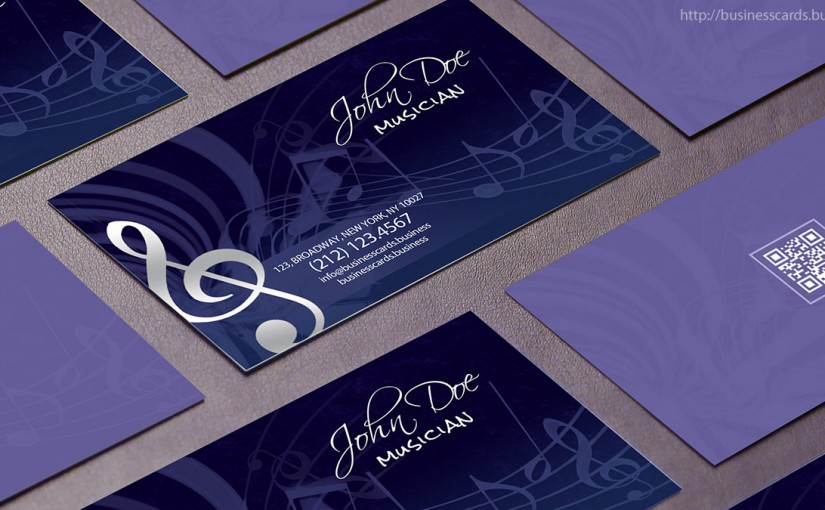free music business card template business cards templates