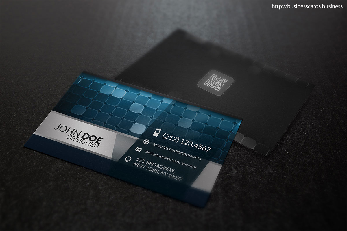 Free Digital Business Card Template Business Cards Templates