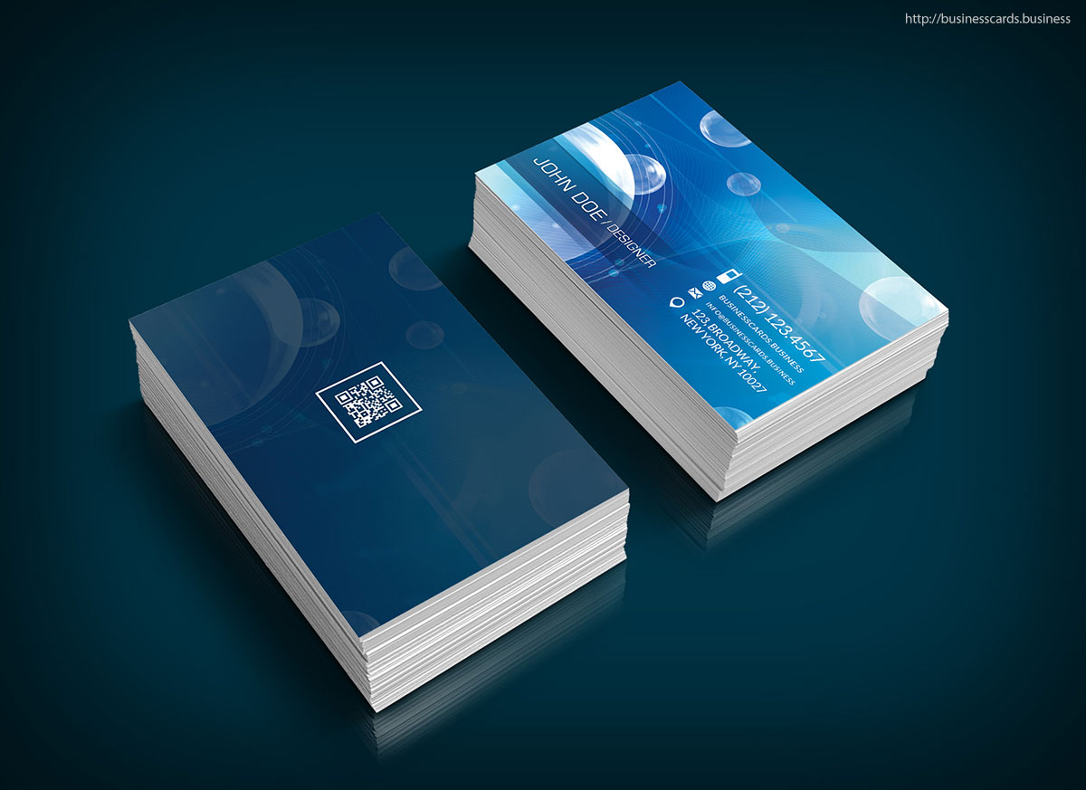 Free Technology Business Card Template : Business Cards Templates