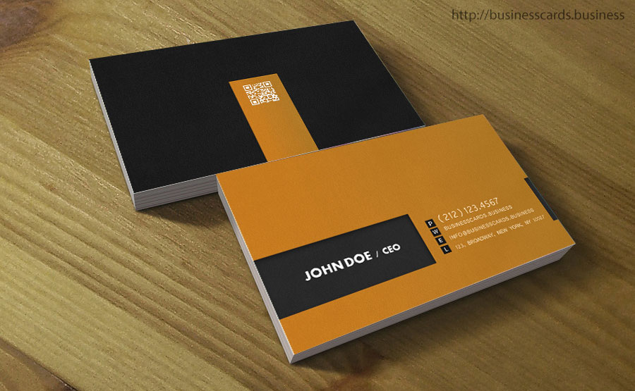 High End Business Card Template : Business Cards Templates