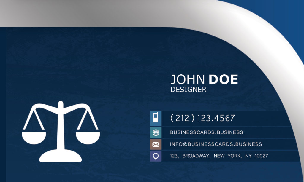 Attorney business card template free download printtokillcom reheart Choice Image