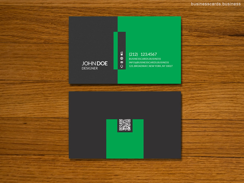 Simple Business Card Template for Photoshop : Business Cards Templates
