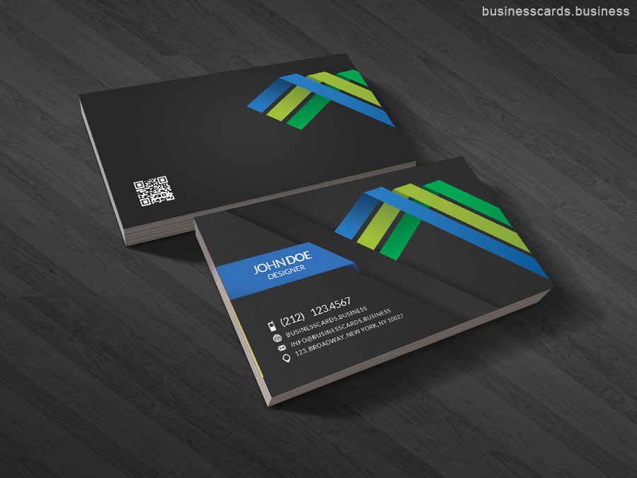 Qr code business card templates business cards templates free linen business card psd template reheart Image collections