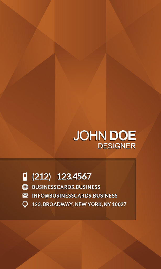 Jewerly Business Card Template