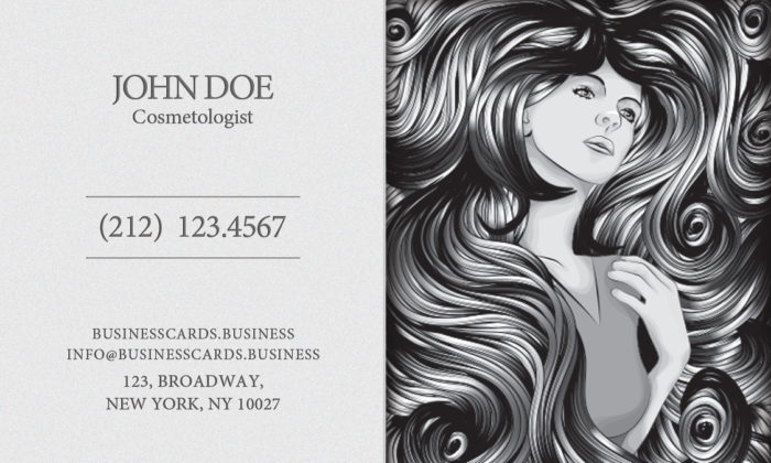 Cosmetology business cards pasoevolist cosmetology business cards reheart Image collections