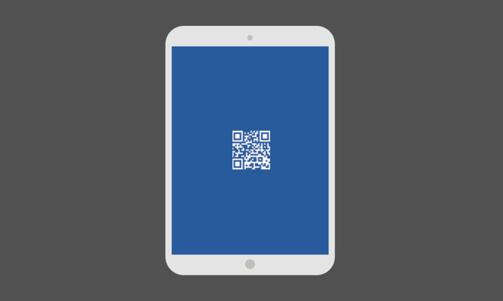 QR Code Business Card Template for Programmer and Developer